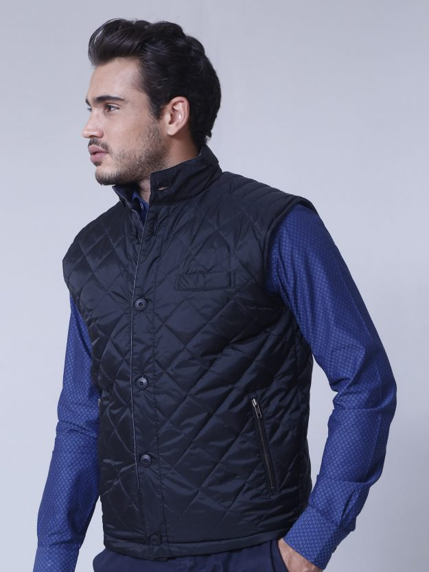 Reversible Quilted Sleeveless vest