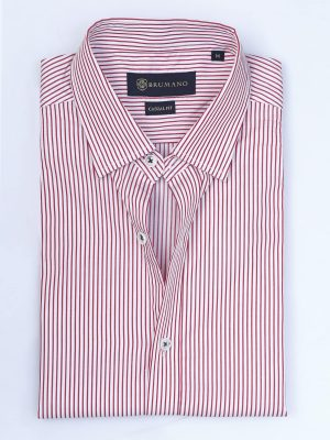 Red Pinstripe Shirt