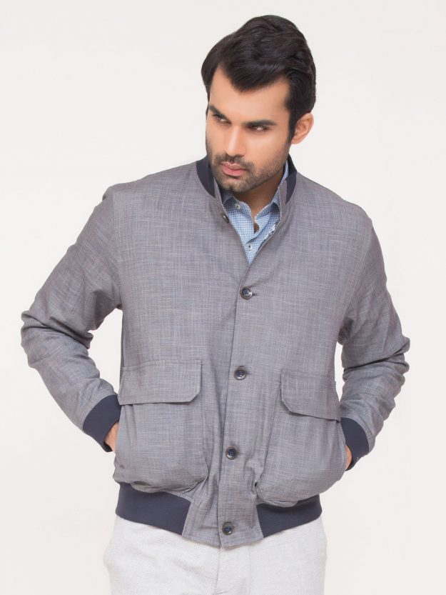 Slub Textured Jacket-4