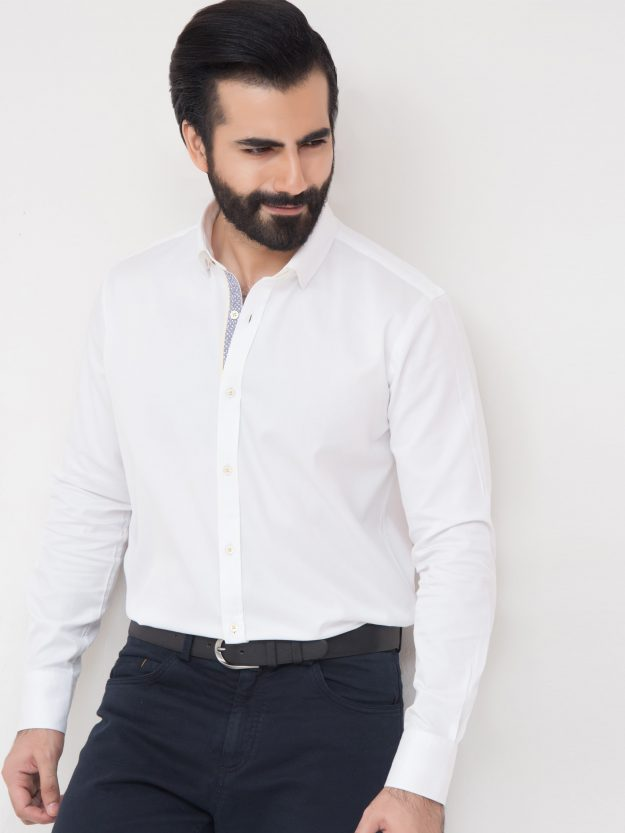 White Shirt With Detailing-1