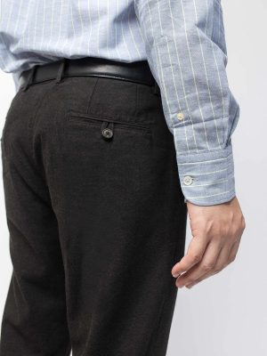 Charcoal Semi Formal Trouser